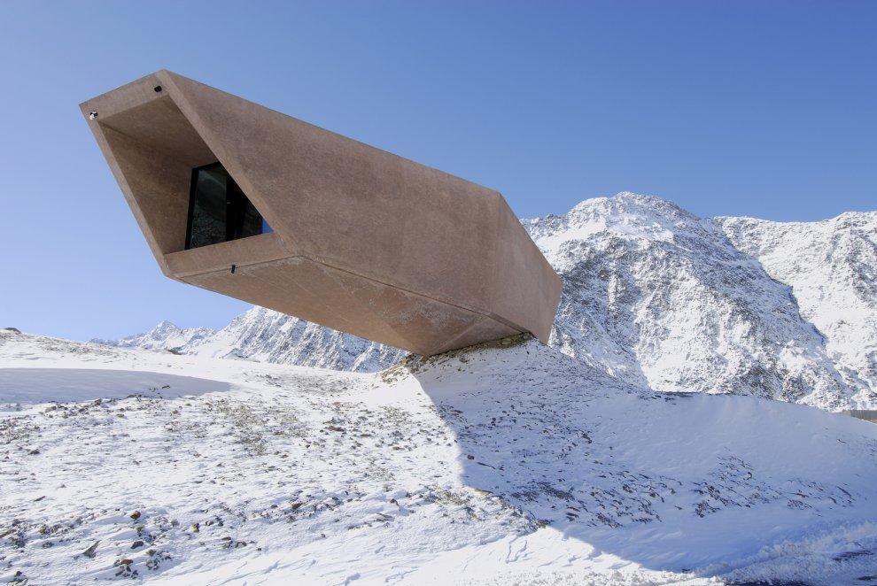Pass Museum -  O fantástico museu suspenso